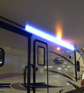 New RV 16' White LED Awning Party Light w Mounting Channel ...