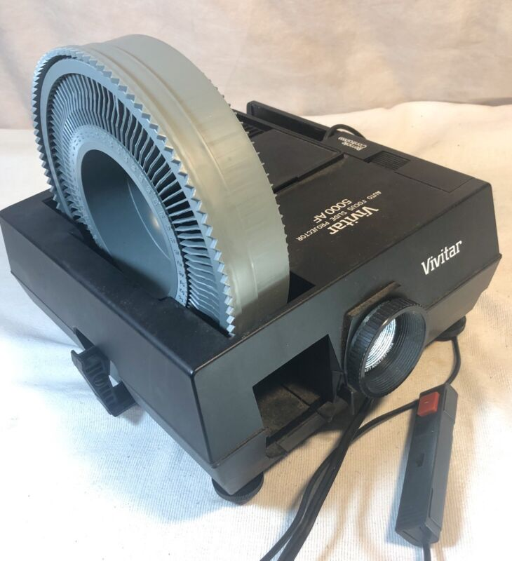 Vivitar 5000AF Carousel Slide Projector Remote Auto Focus / 5000 AF