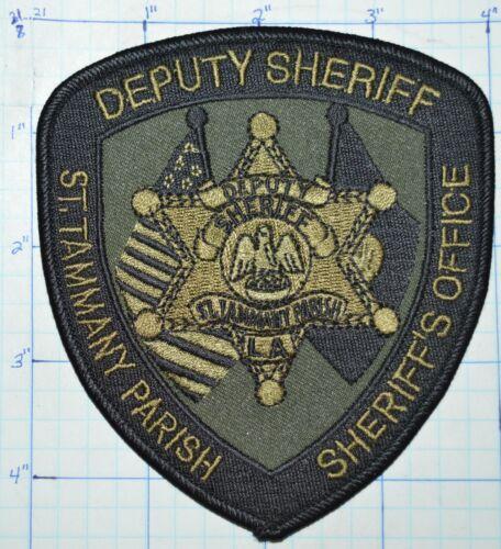 LOUISIANA, ST. TAMMANY PARISH DEPUTY SHERIFF SHERIFF