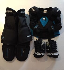Bauer Prodigy Youth Hockey Pads & Gloves