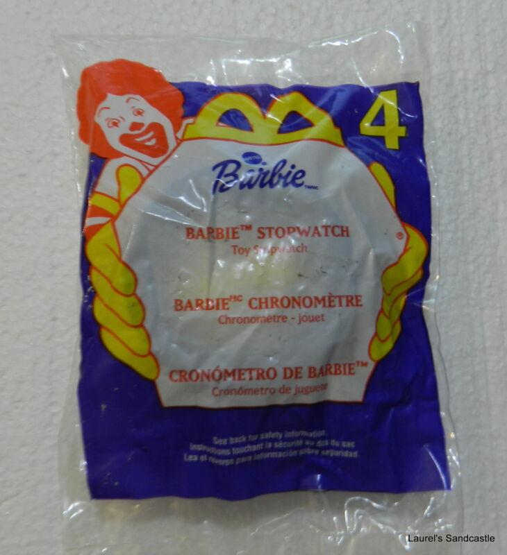 BARBIE Stopwatch ~ #4  2000 McDonald's Toy NEW & Sealed!!