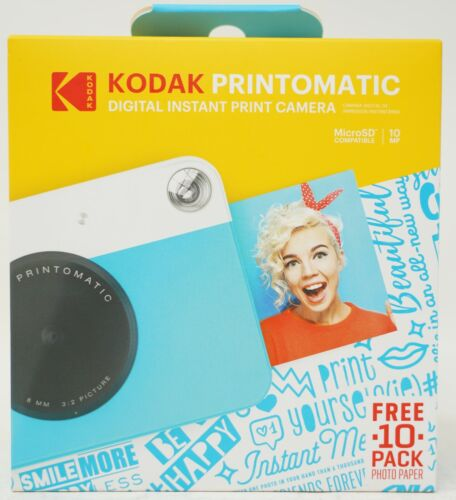 Kodak Printomatic 10Mp Digital Camera Blue