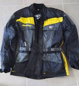 Motoline motorbike jacket large Thornton Maitland Area Preview