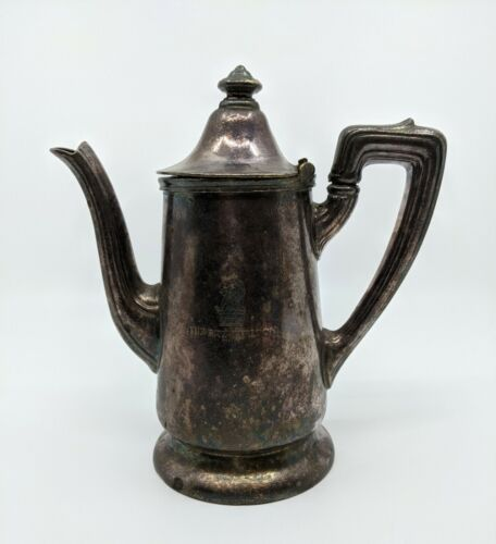 Vintage Reed & Barton Silver Soldered 2 Pint The Ritz-Carlton Boston Tea/Coffee