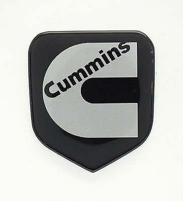 GRILLE EMBLEM fits DODGE RAM Cummins 1994-2002  Black/Silver