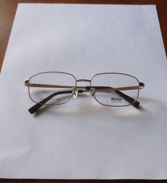 NEW Nikon Duratitan Titanium Eyeglasses Frame Made in Japan ...