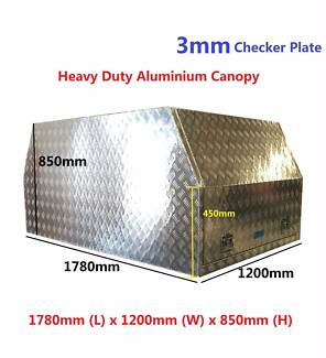 BRAND-NEW-ALUMINIUM-CANOPY-UTE-TRUCK-3MM-Checker-Plate-1780 x 120 Springvale Greater Dandenong Preview