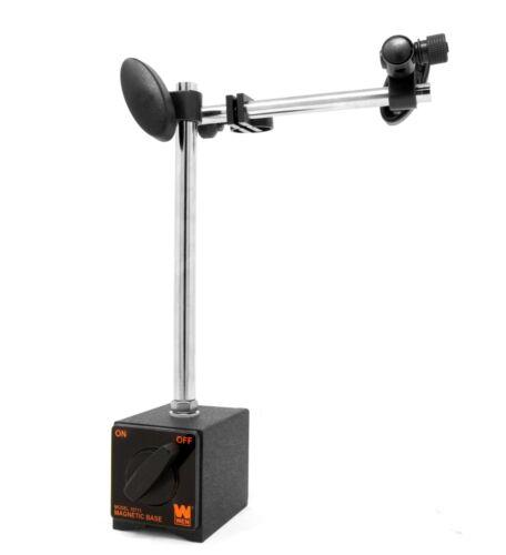 WEN 10711 Industrial-Strength Adjustable Magnetic Base for Dial Indicators