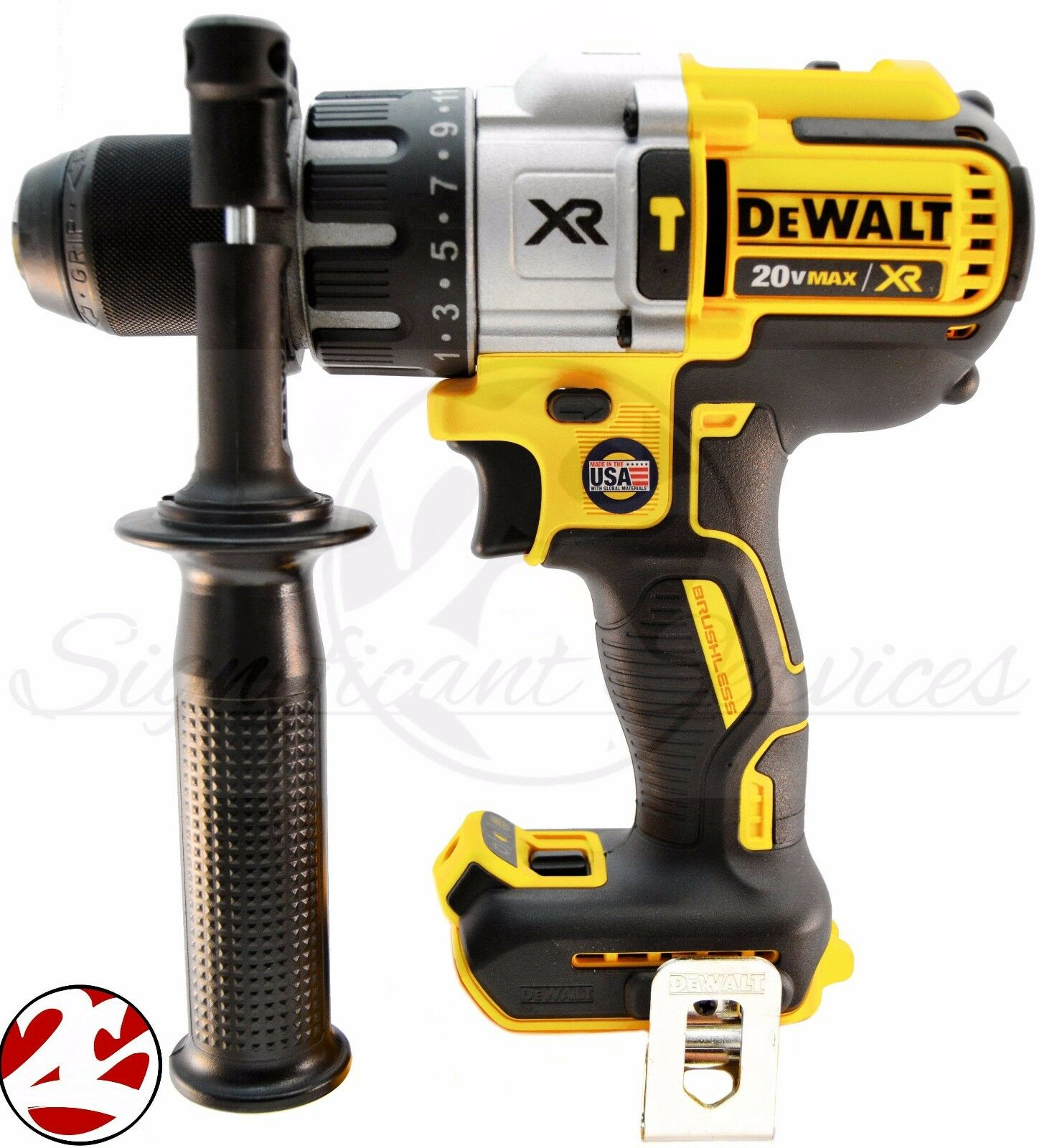 Dewalt dcd996 20v max xr cordless li ion brushless 3 speed for Dewalt 20v brushless motor