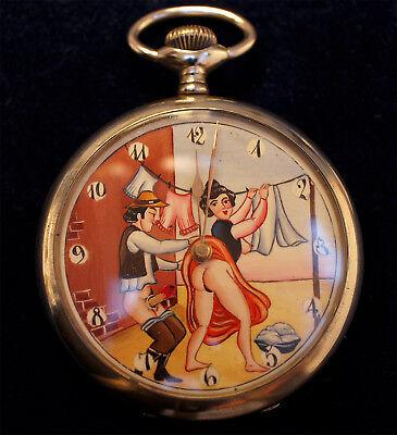 Antike Nickel-Uhr