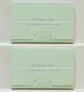 JAPAN-600-pcs-Oil-Clear-Flim-Blotting-Paper-6-packs