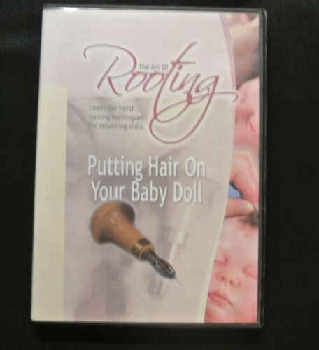 The Art Of Rooting Putting Hair on Your Doll DVD