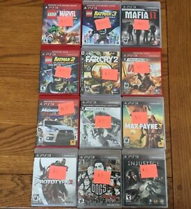 PS3 games - group of 12