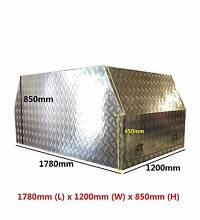 ALUMINIUM TOOLBOX  UTE CANOPY 3mm CHECKER PLATE- 1780 850 1200mm Springvale Greater Dandenong Preview