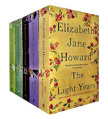 Cazalet Chronicle Collection Elizabeth Jane Howard 5 Books Set The Light Years