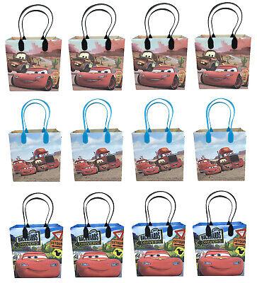 DISNEY CARS GOODIE BAGS PARTY FAVORS CANDY LOOT PIXAR TREAT BIRTHDAY BAG