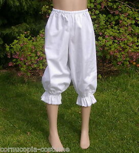 Girls-Victorian-Edwardian-BLOOMERS-costume-fancy-dress-age-8-yrs