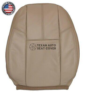 2011 Chevy Silverado 1500 LTZ, Z71 -Driver Lean Back Leatherette Seat Cover Tan