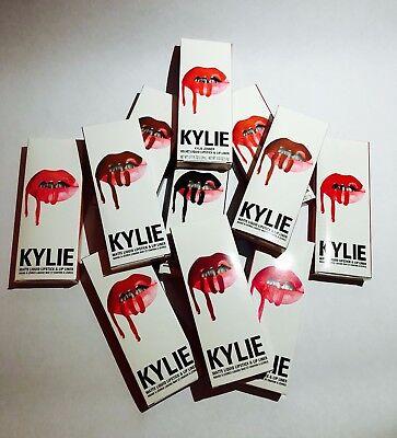 Kylie Jenner Lip Kit Matte Liquid Lipstick   Lip Liner Fresh Trendy Colors