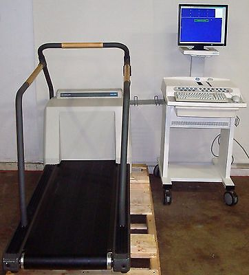 Ge Case 8000 V6.51 Stress Test System With Marquette 2000 Series Treadmill