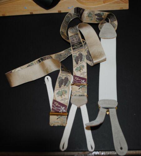 Trafalgar Braces Suspenders• Château Grapes  •Limited Edition