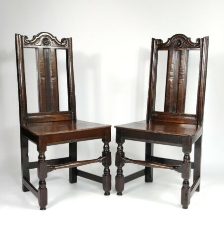 A Pair Of Late 17th Century Chairs.
