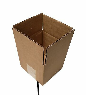 Kraft 5 X 5 X 5 Corrugated Shippingpacking Cardboard Boxes 10 Pieces