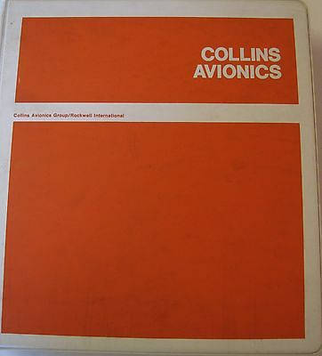 Collins Pro Line ANS-31A Area Navigation System Original Instruction Book