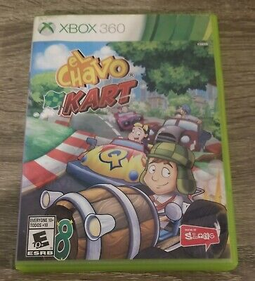 El Chavo Kart (Xbox 360, 2014) With Manual Tested Works