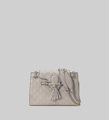 058e470bc62 NWT Gucci Emily Guccissima Leather Small Chain Shoulder Bag