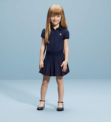 db075b3b NWT NEW Gucci girls navy blue or white tennis polo dress 5y 8y 10y
