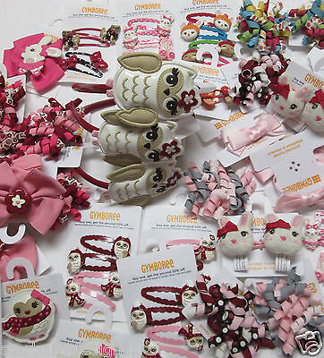 NWT GYMBOREE WHOLESALE HAIR ACCESSORY LOT ALL GIRLS $50 RETAIL READ - Accessory Wholesale