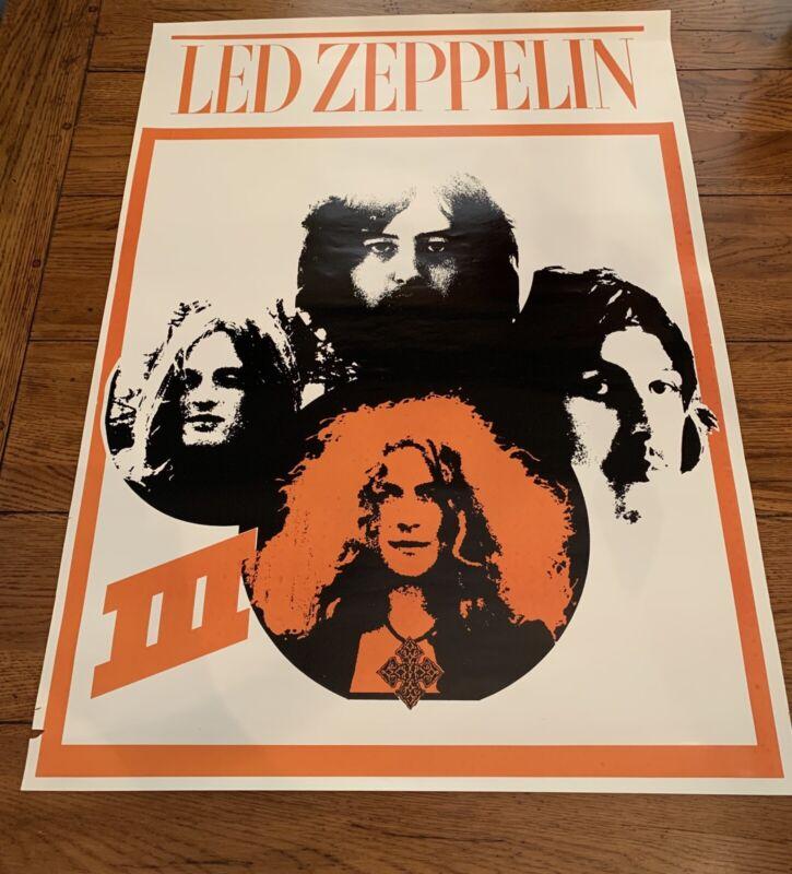 Led Zeppelin Rare Poster