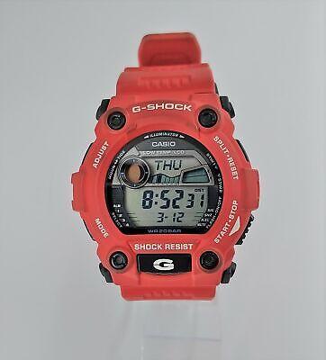 Casio G7900A-4 Men's G-Shock Rescue Red Digital Sport Watch
