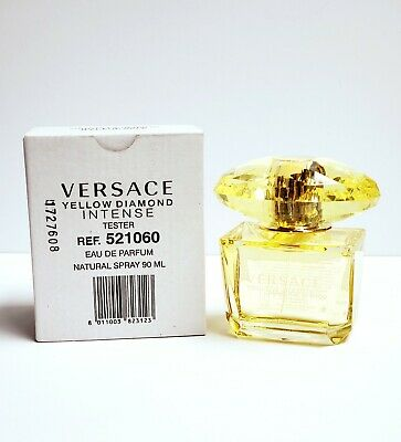 Yellow Diamond INTENSE by Versace for Women 3.0 oz (90ml) EDP New TESTR In Box
