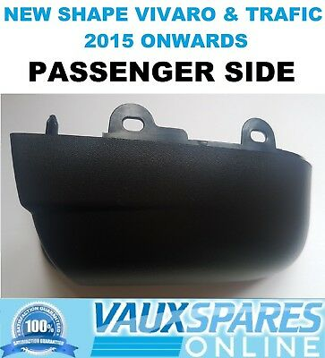 VIVARO TRAFIC TALENTO BLACK WING MIRROR LOWER COVER CASING PASSENGER NEAR SIDE