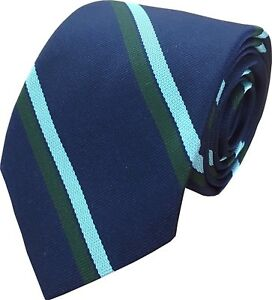 Royal Corps Of Signals Regimental Striped Tie Regiment RCS