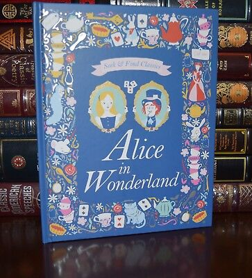 Alice in Wonderland Illustrated New Seek Find Classics Large Hardcover Gift