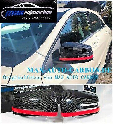 Carbon Spiegelkappen Cover passt für Mercedes AMG A45 CLA45 C63 E63 GLA45 CLS63