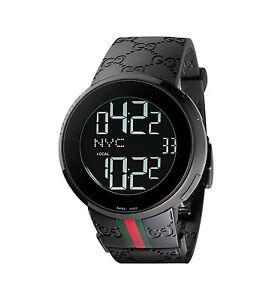 d5a69692d72 Gucci YA114207 Men s Wrist Watch - Black for sale online