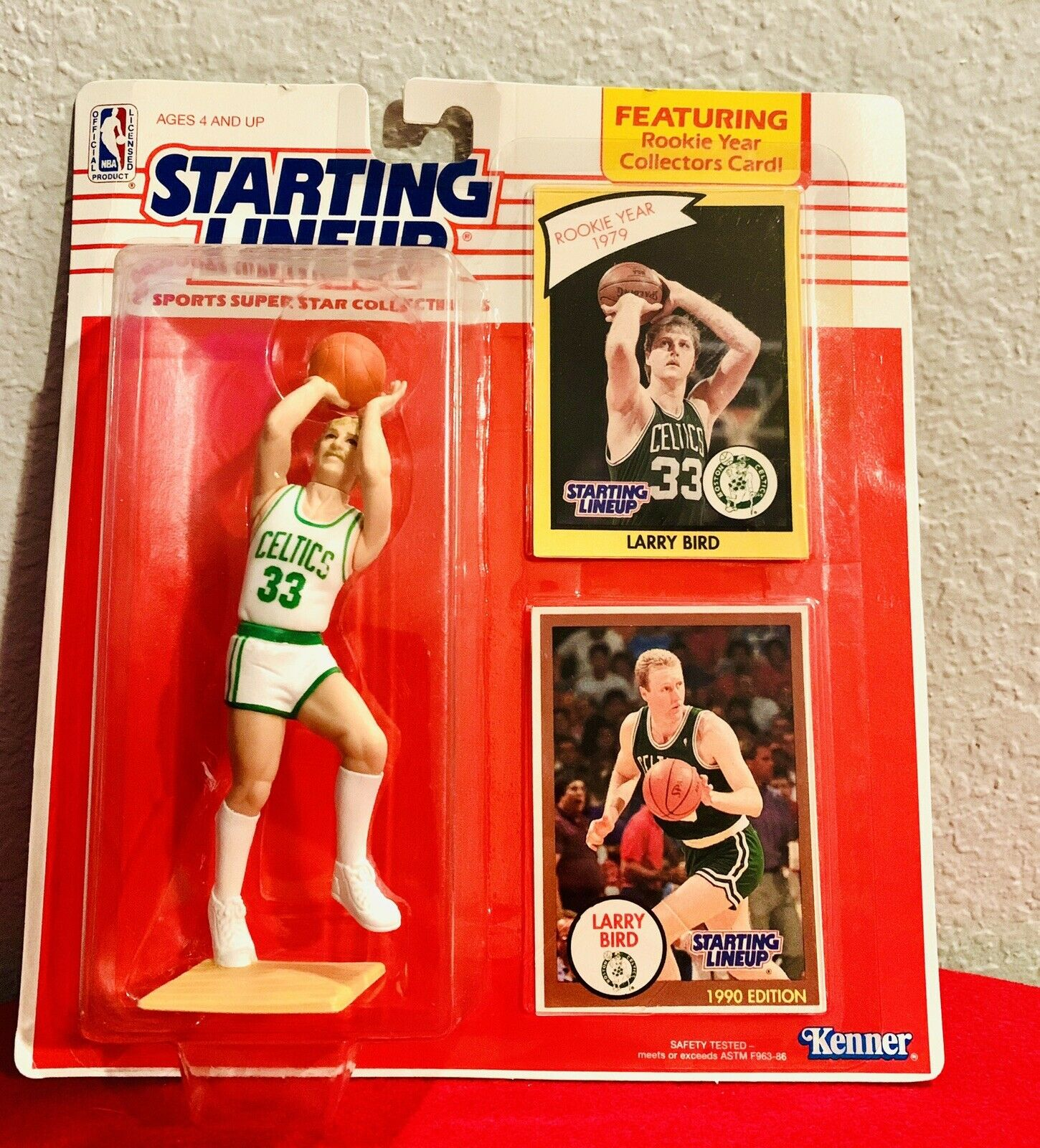 1990 Larry Bird Kenner Starting Lineup Rookie 1979 Psa Condition Sportscards Com