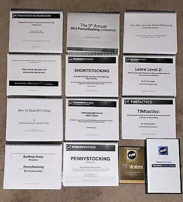 Tim Sykes PennyStocking DVD Set (Millionaire Challenge Set)
