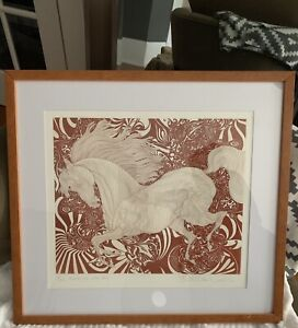 29/250 signed etching by artist Guillaume Azoulay
