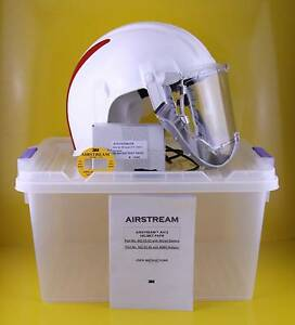 3M Airstream AH12 Industrial Helmet , Nimh Battery , 902-02-95 Gidgegannup Swan Area Preview