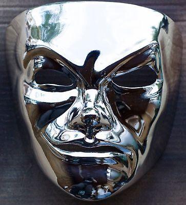 Da Kurlzz SS (CHROME) mask from Hollywood Undead - Hollywood Undead Mask
