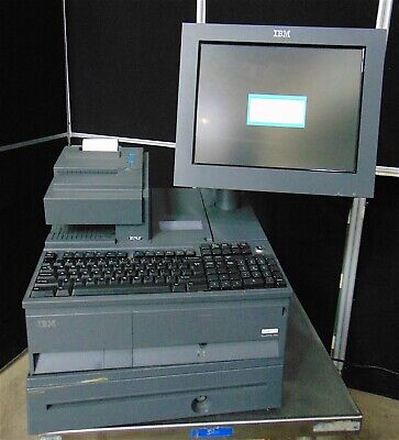 Ibm Surepos 700 With Printer Type 4610-tg4 Customer Readout Pole S4028