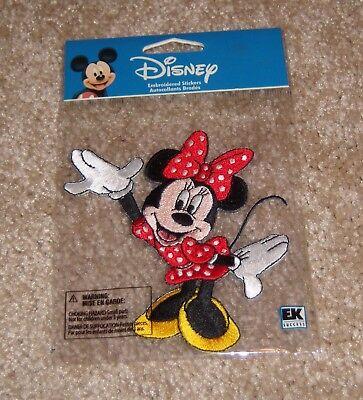 Disney Embroidered Sticker (EK Success Disney Embroidered Sticker ~Minnie Mouse )