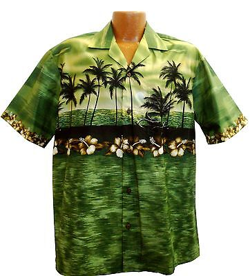 Big and Tall Hawaiian Sunset Aloha Shirt