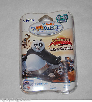 Path of the Panda Vsmile Vtech Vmotion Learning Game KUNG FU PANDA Age 4-6