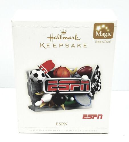 HALLMARK Keepsake ESPN Sports Center 2006 CHRISTMAS ORNAMENT Football Golf Bowl